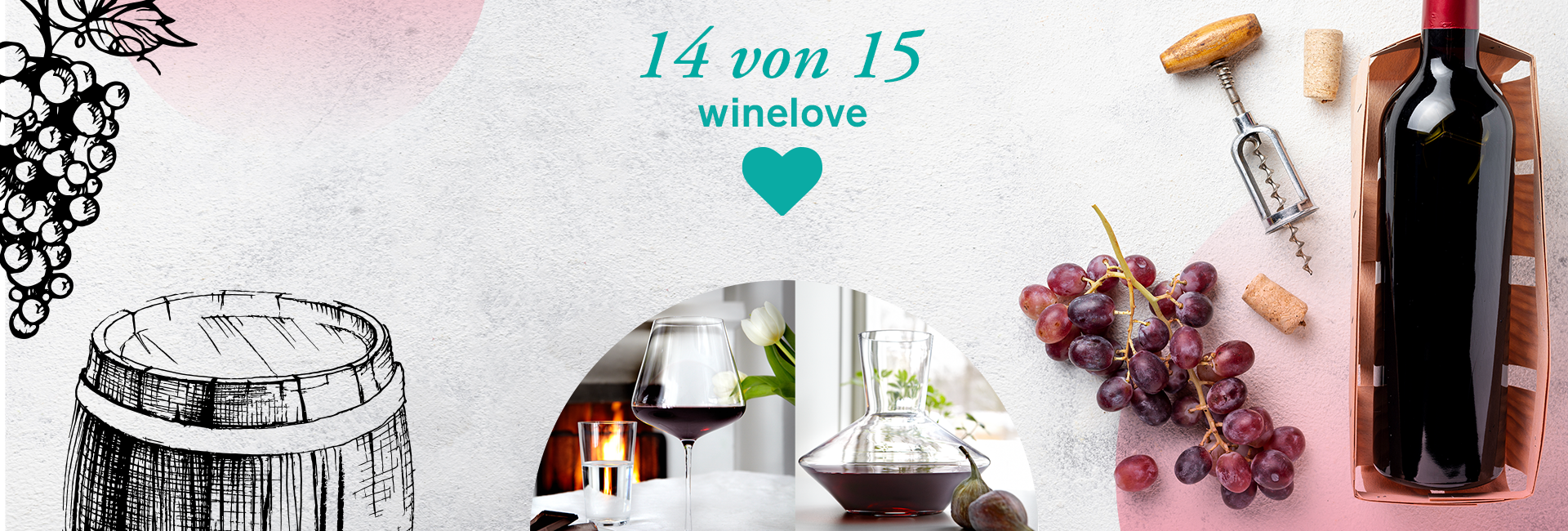 14. Weingläschen 🍷