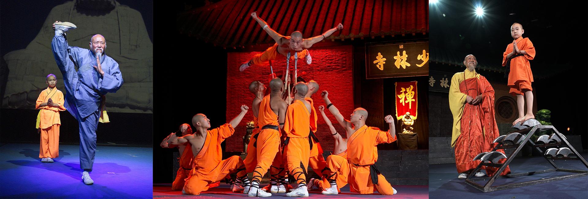 Shaolin-Mönche-Show