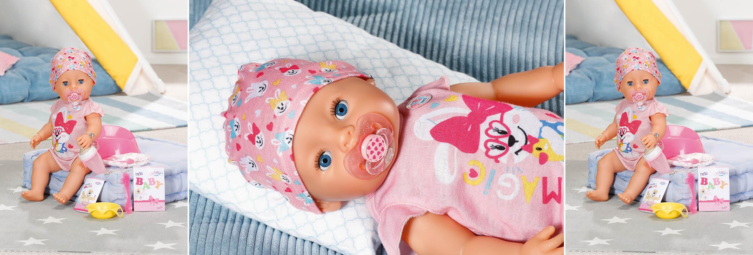 BABY born Magic Girl mit Zubehör