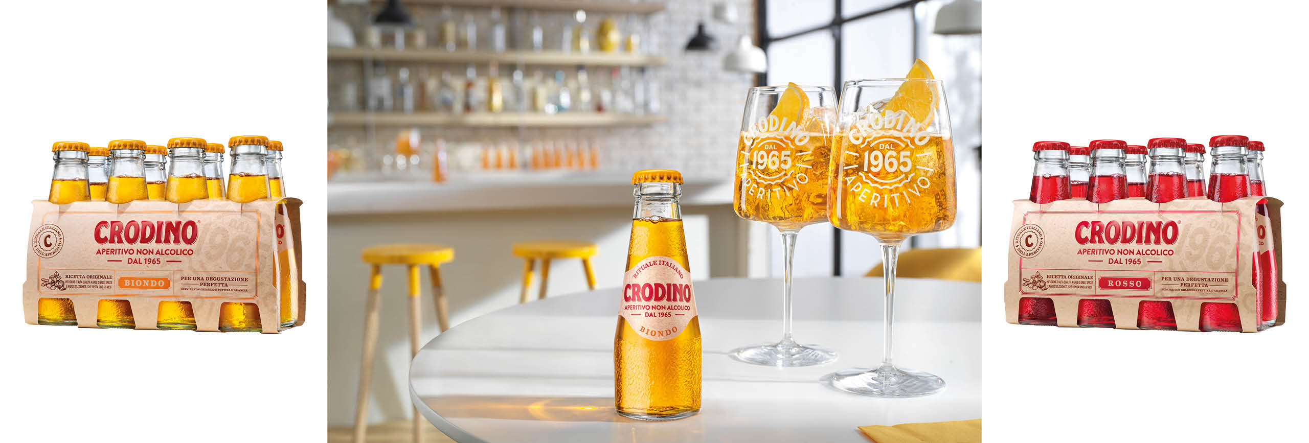 Spritziges Crodino-Package