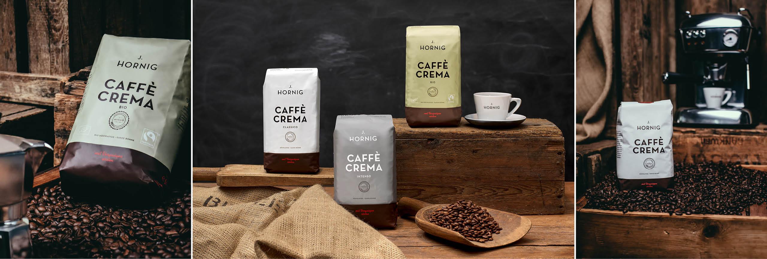 J. Hornig Caffe Crema Jahresvorrat