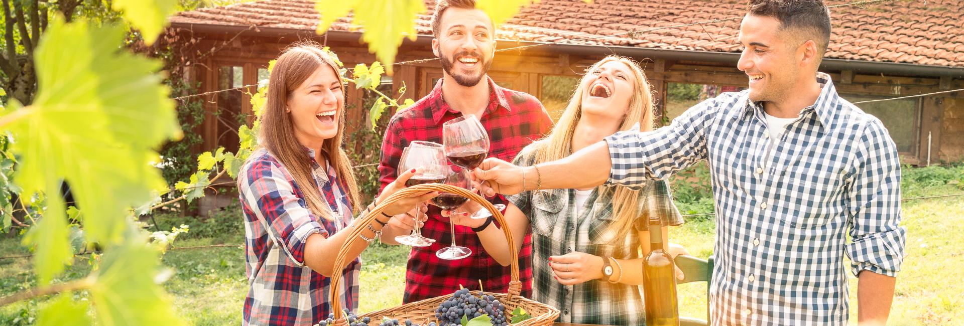 Weinverkostung in Parndorf